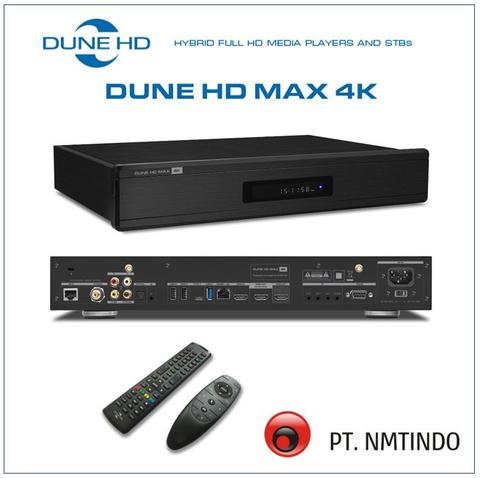 Dune HD Max 4K Media Player 4K sekaligus HiFi Music Audio Player SACD FLAC