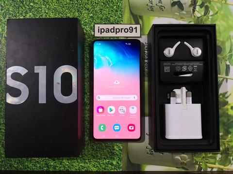 Samsung Galaxy S10 128GB Prism White Duos Global Fullset COD Bandung