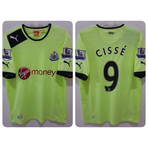 Jersey Newcastle United 3rd 2012/2013 name player Papiss Cisse + Patch EPL