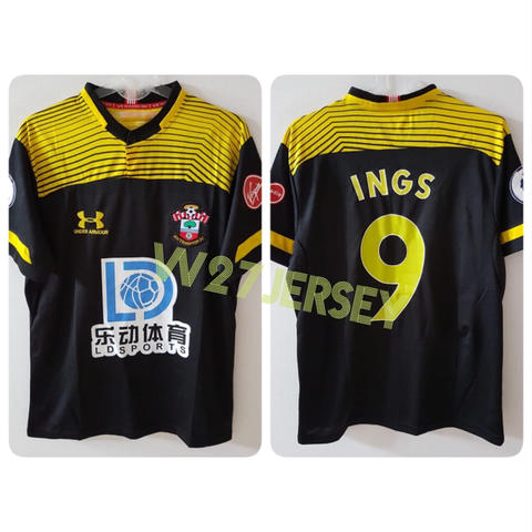 Jersey Southampton Away 2019/2020 name player Ings + Patch EPL