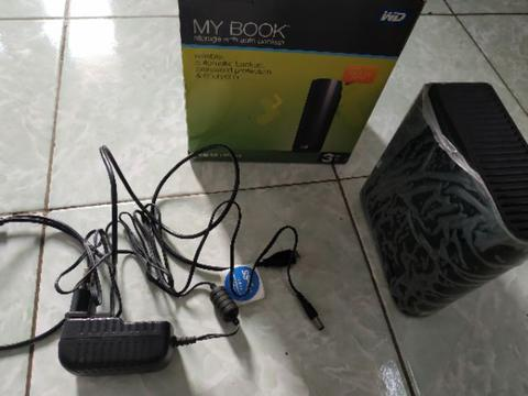 Hardisk External WD My BOOK 3TB Full ISI