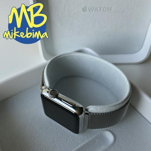 NEW Apple WATCH 38MM┃Stainless Steel┃milanese loop┃TT iPhone 11