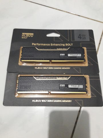 Klevv Bolt ddr4 2x4 8GB 2400MHz