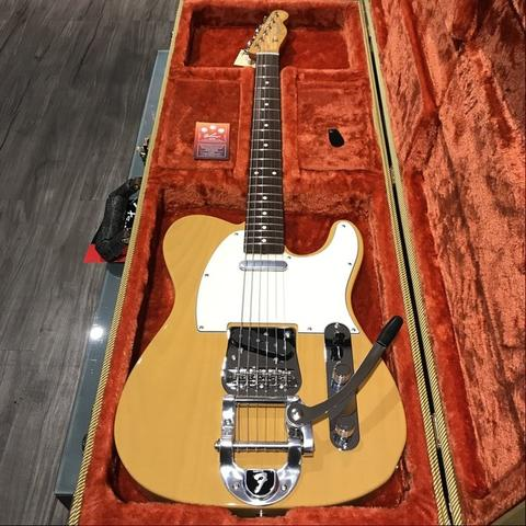 NEW FENDER JAPAN FSR TRADITIONAL '60S TELECASTER BIGSBY BUTTERSCOTCH BLONDE TWEEDCASE