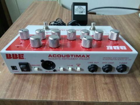BBE preamp acoustimax - acoustic instrument preamp