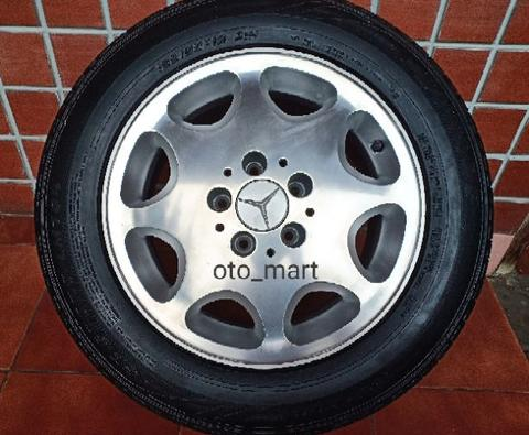 Velg Original Mercedes Benz Eight Hole Polish OEM R15 Mercy Ori