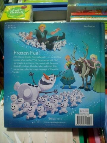 Disney: Frozen Story Book Collection