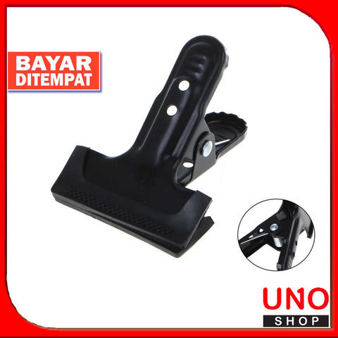 Background Spring Clamp Strong Metal Rubber Coated Clip