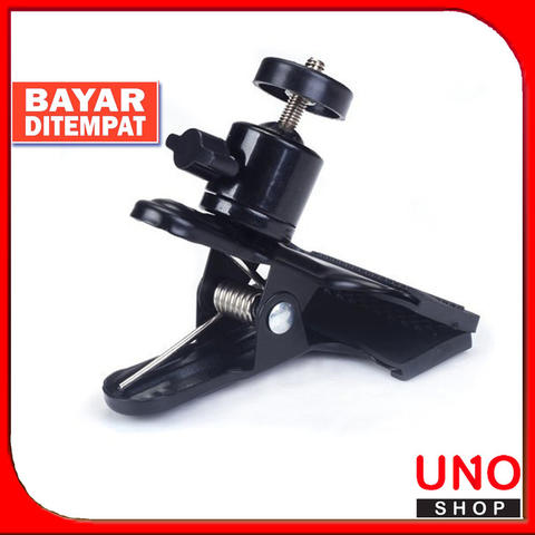 Clip Clamp Background Holder Mount with Standard Ball Head