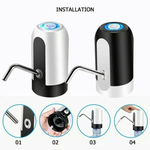 pompa galon air led usb water pump electric elektrik Dispenser automatic Rechargeable