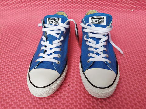 Sepatu Converse Canvas All Star Blue Ukuran 44 Original Asli