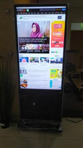"""Digital Signage Touch Screen 55"""" Android LCD Samsung / LG"""