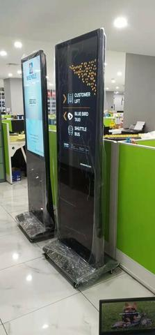 """Digital Signage Touchscreen 43"""" Android LCD SAMSUNG / LG"""