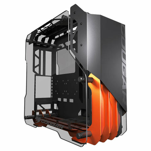 [JoJo CompTech] COUGAR BLAZER Superb Open Frame Aluminum Mid Tower ATX Gaming Case