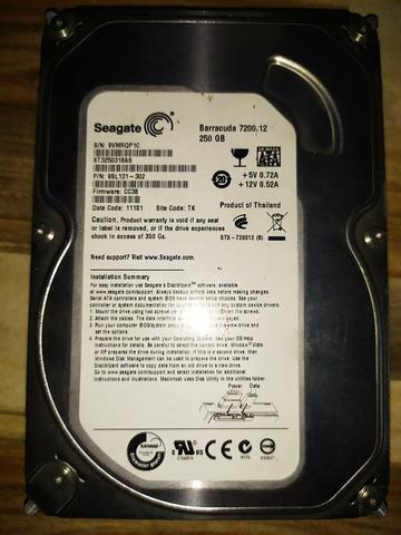 Jual HDD Internal 500 GB, 160 GB, dan 40 GB(2) Seagate
