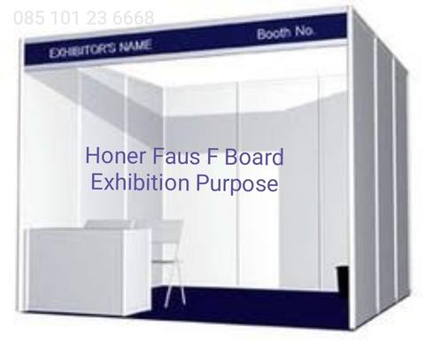exhibition display partisi partition booth skad pameran Honer FAUS F Board