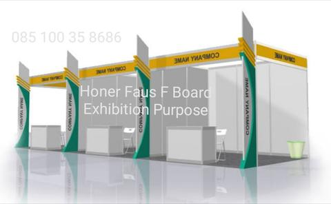 exhibition stand booth skad partisi pameran partition bukan melamin melaminto