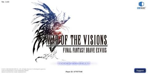 Starter War of the Visions FFbe