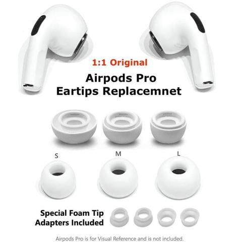 Earbuds Silicone Eartips Replacement For Airpods Pro Like Original