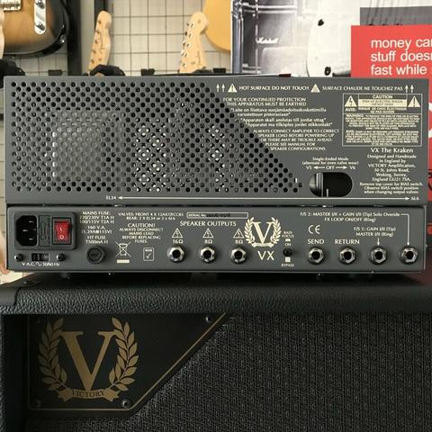 VICTORY AMPS MADE IN ENGLAND : VICTORY VX THE KRAKEN HEAD