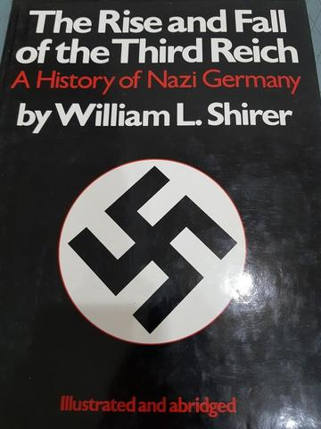buku sejarah The Rise and Fall of the Third Reich - a History of Nazi Germany