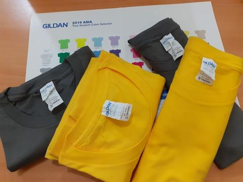 Ready Gildan Softstyle Cotton 30's S - XXL !!!