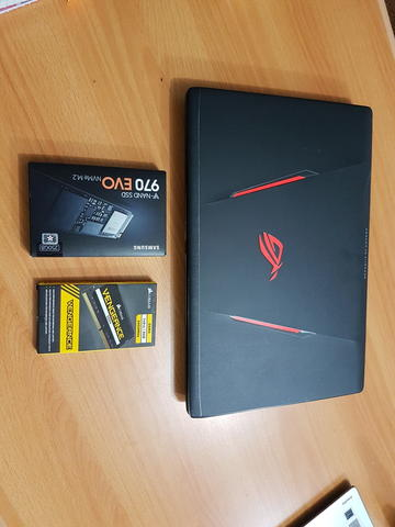 Asus ROG Strix GL553VD Intel Core i7 7700HQ