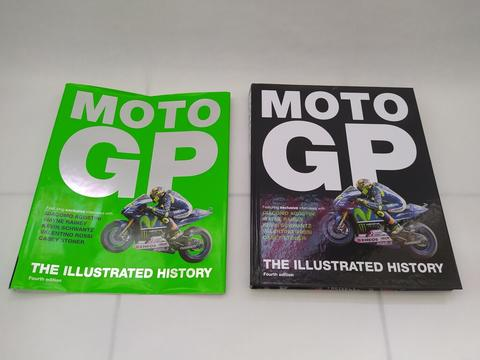 JUAL BUKU MOTOGP THE ILLUSTRATED HISTORY