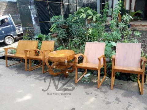 Kursi Tamu Jengki Jati - Kursi Jati - NZ Furniture