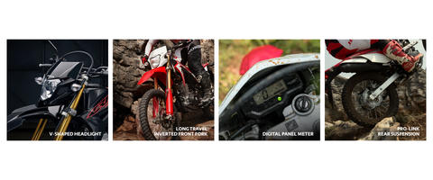 CRF 150L - Dealer Resmi Motor Cash Kredit Honda Jadetabekser Ready Stock