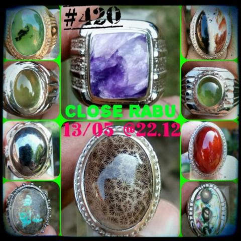 LELANG #420= 63pcs CLOSE RABU 13/05 @22:12