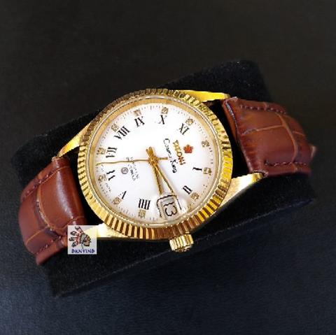 Titoni Cosmo King Roman Dial Gold Automatic 25 Jewel