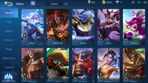 Jual Akun ML / Mobile Legends MYTHIC MURAH