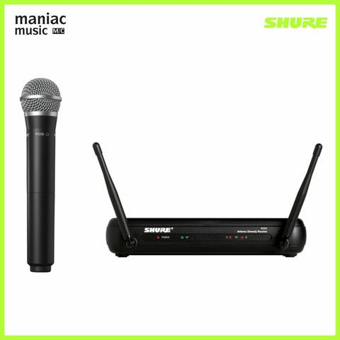 Shure SVX24/PG58 Wireless Vocal System (Include Receiver, Transmitter)