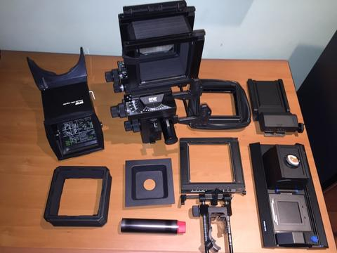 Sinar P2 4x5 View Camera (large format) and Accessoties (Digital ready!)