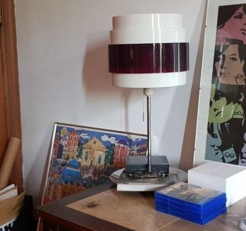 IKEA Energi Rock Table Lamp Stainless