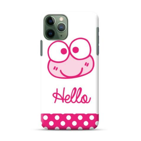 Hello Frog iPhone 11 Pro Custom Hard Case