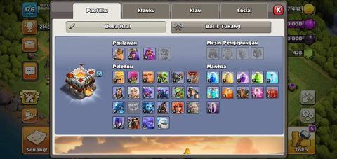 Akun Clash Of Clans TH11 ALL MAXED