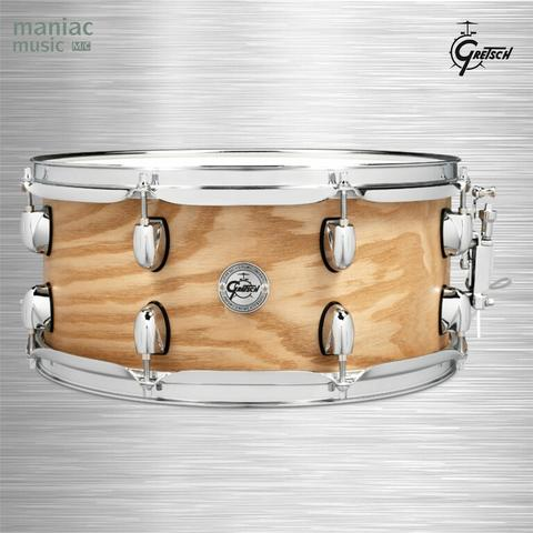 "Gretsch S1-6514-ASHSN (Snare Drum, 6.5 x 14"", Ash, Sharper, Controlled Sustain)"
