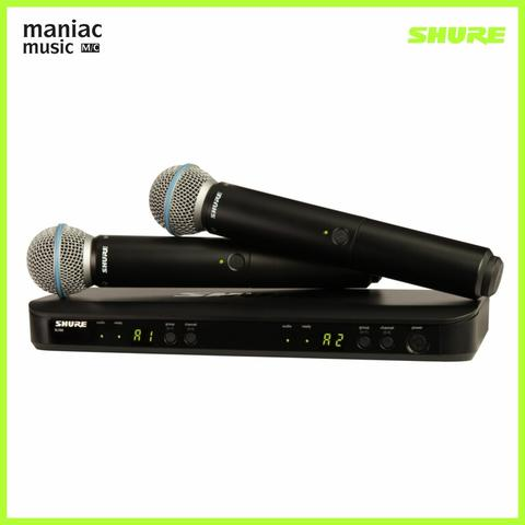 Shure BLX288A/BETA58 (Wireless Dual Vocal System, With Two Beta 58A)