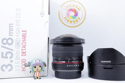 [JUAL] Lensa Fisheye Samyang 8mm CS II for Canon Mulus FE 8 mm [SEMARANG]