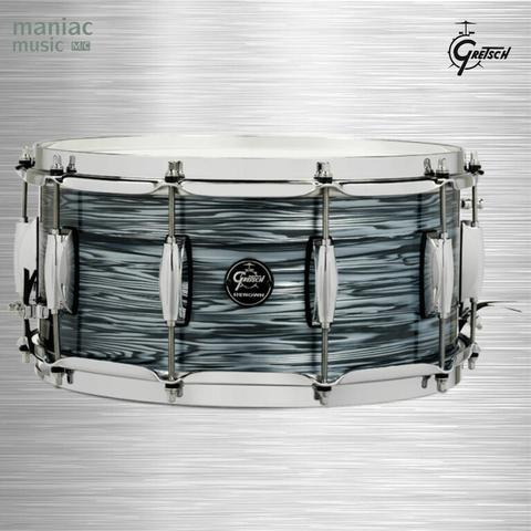 "Gretsch RN2-6514S-SOP Renown Series (Snare Drum, 6.5 x 14"", Silver Oyster Pearl)"