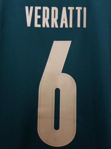 Jersey Italy 3rd Renaissance name player Verratti + Patch Euro 2020