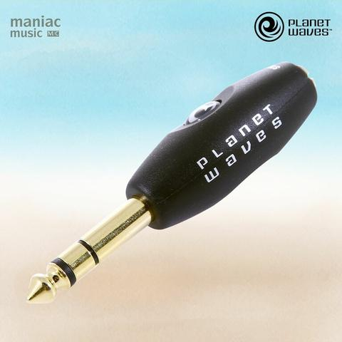 """Planet Waves PW-P047E (Adapter, 1/4"""" Male to 1/8"""" Female Stereo, Gold Plated)"""