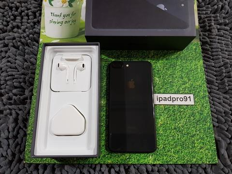 iPhone 8+ Plus 256gb Space Gray Dual Back Kamera Fullset COD Bandung