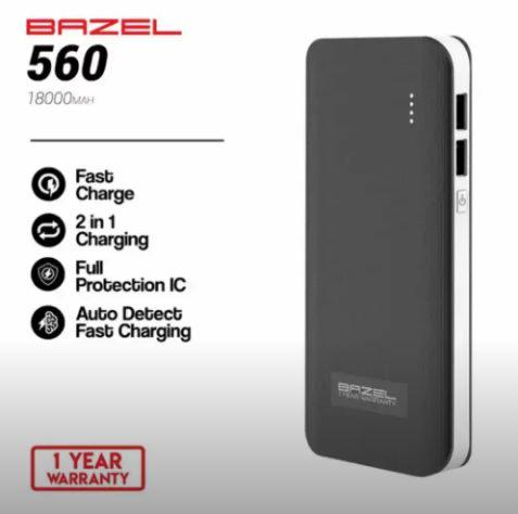Powerbank Bazel 560