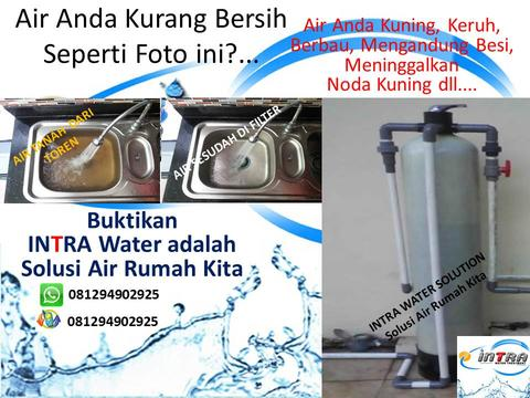 Filter Air INTRA WATER SOLUTION, penjernih air, penyaring air
