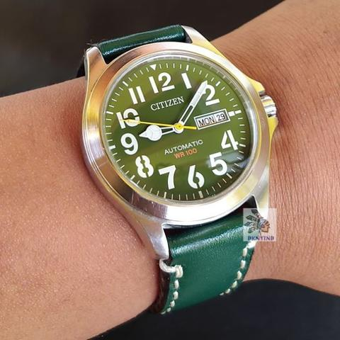 Citizen Military Automatic Green Dial NH7350