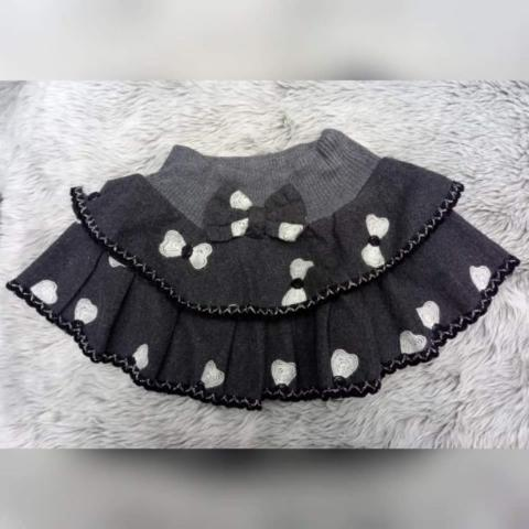 Preloved Rok Pendek Anak Perempuan Abu Kids Girls Grey Skirt