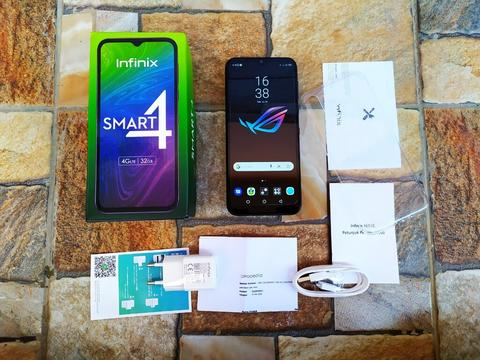 Infinix Smart 4 Midnight Black Ram 2GB Internal 32GB